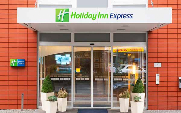 Holiday Inn Express Berlin City Centre-West, Eingangsbereich