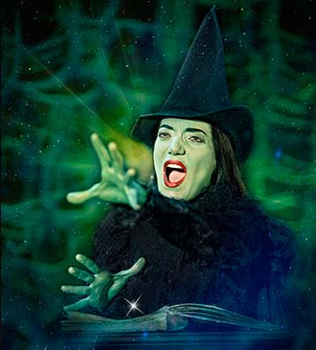 "WICKED - Das Musical, Motiv ""Elphaba"""